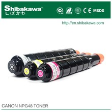 refilled color toner cartridge with toner powder for ImageRunner ADVANCE C7065 copier