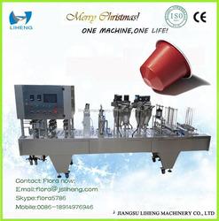 FACTORY direct sale automatic nespresso coffee capsule filling machine