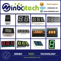 0.36 inch four digits seven segment LED display with yellow color,digit tube