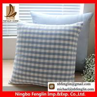 Excellent quality classical screen printed cotton cushion cover