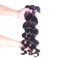 2015Hot sale Popular tangle free 100%unprocessed Malaysian human hair weave Free shipping