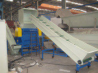 pp pe waste plastic recycling line