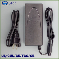 42V 2A Li ion Battery Charger for Self Balancing Electric Scooter with UL,CE,CB,FCC,CUL approved