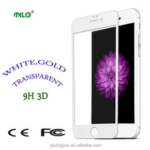 2015 new products premium tempered glass screen protector for iPhone6,real 3D factory price