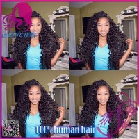 Sunny queen human hair lace wig 100% virgin remy Indian human hair lace front wig with middle parting natural color in stock