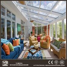 Latest French Design Glass Green House Veranda Sunroom