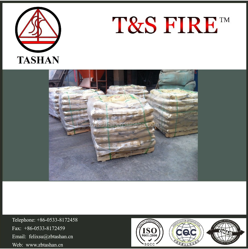 Cement refractory castable