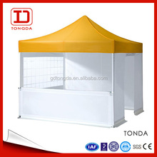 3x3m custom design colorful trade show tent displays