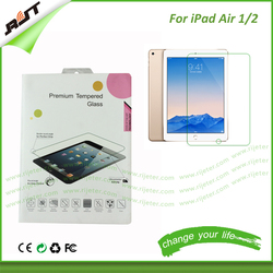 Wholesale retail package anti shock 9.7 inch clear screen protector for ipad, tablet screen protector for ipad air 2