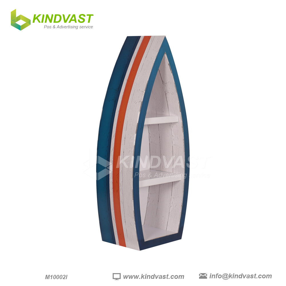 Shoe floor display corrugated pop display stand buy shoe for Portable t shirt display