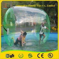 1.0mm thickness PVC/TPU inflatable water roller, aqua cylinder, floating water wheel for sales