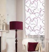 MEIJIA fashion design roller blind/printed roller blind/chain printed roller blinds