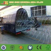 Lowest Price Concertina Spiral Razor Barbed Wires For Security Protection---From China Largest Razor Wire Factory