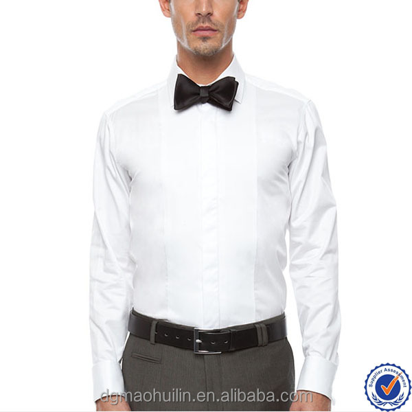 Wholesale Mens White Dress Shirts With French Cuffs With