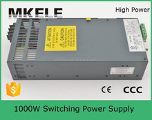 SCN-1000-15 15v 66a 15v 1000w smps s-1000-15 switching power supply 1000W wtih PFC function