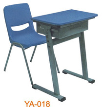 Environmental Friendly Used School Furniture Plastic Tables And Chairs YA-018