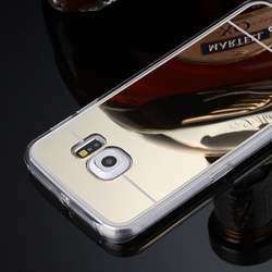 Hot Selling Soft TPU Protective Cellphone Mirror Case for Samsung Galaxy S6