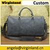 Latest Design Huge Vintage Genuine Leather Weekend Bag Travel Bag for Men