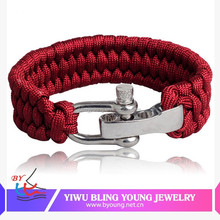 High quality professional bracelet paracord buckle