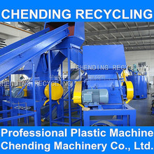 CHENDING 300kg/h waste plastic film washing and recycling line