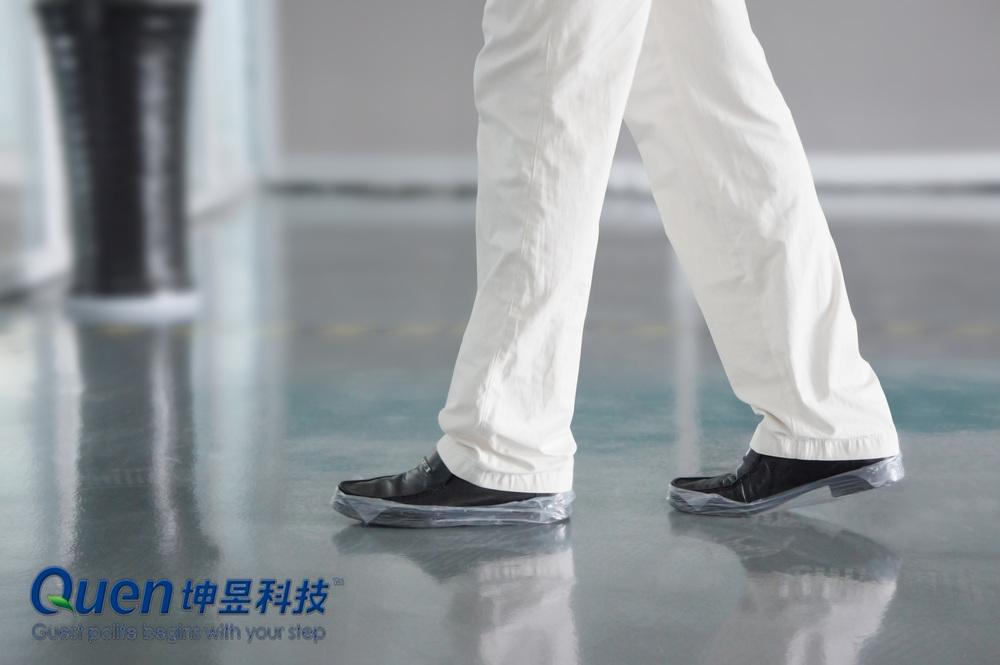 quen ayakkabı kapağı dispanser tıbbi üretim