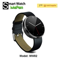2015 cheap smart watch with IPS touch screen/ round waterproof hand phone watch