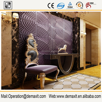 3D embossed Wall Panel Murals, DIY Printing Wallpaper ,Special Size for Customizing