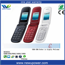 Cheap whatsapp 2G colorful Seniors Phone Easy To Use With Big Buttons chile whatsapp flip phone