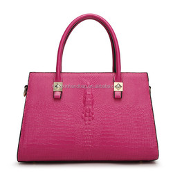 fashion fancy europe design leather handbag import wholesale