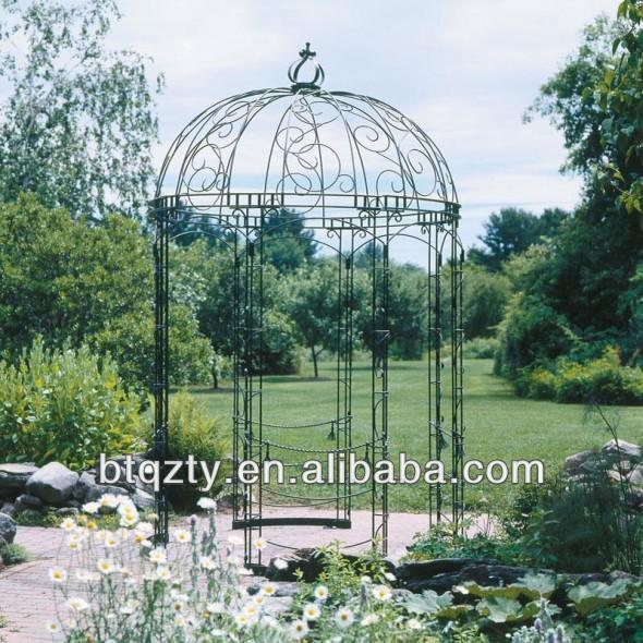 Garden Metal Gazebo : ... garden Gazebo/ Metal Pavilion - Buy Gazebo,Round Metal Gazebo,Metal