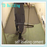 Ground stabilization of large or high-rise buildings used TD super self level flooring cement and cement price