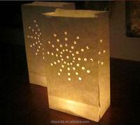 Wholesale Christmas luminaire candle bags alibaba
