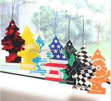 Hot selling hanging Little Trees car air freshener