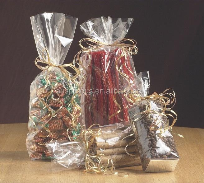 Envoltura de celof n bolsa de fondo cuadrado bolsa de - Envolver regalos con papel de seda ...