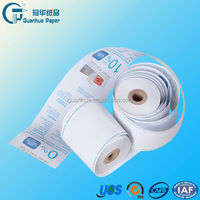 Thermal till rolls for pos machine atm and cash register