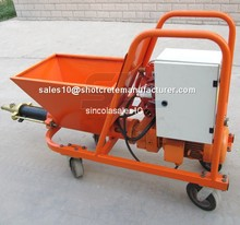 Lower cost of the equipment operation plastering machine for wall