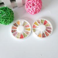 BIN Fruit Polymer clay Wheel for Nail Art