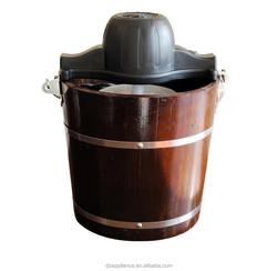 Wooden Bucket Ice Cream Maker