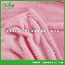 Cheap printed shu velveteen throw silk fleece blanket