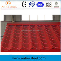 High Quantity China Corrugated Galvanized Zinc Roof Sheet Prices Per Sheet/color coated corrugated steel roofing sheet