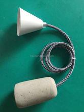 Modern crystal silver modern pendant lamp/lighting