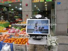 2014 best selling 42 inch 3g/wifi backpack lcd advertising display