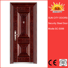 Competitive entry grill design iron external door SC-S088
