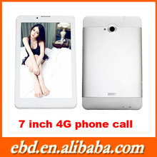 """Phablet 4G LTE in USA 7"""" 1280*800 IPS screen quad core tablet pc GSM 1G RAM, 16G ROM android 5.1 lollipop tablet stock tablet pc"""