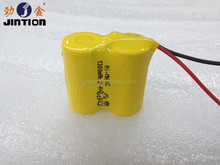 2.4v Ni-MH SC 1300mAh rechargeable battery pack for Cheese making machine