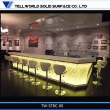 180 Kinds Design Customized Bar Furniture bar and pub table/lighted bar counter