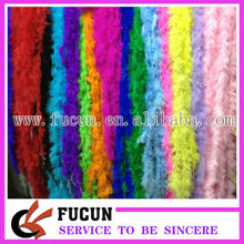 Fluffy Ostrich Feather boa for decoation