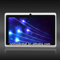 Wholesale 7 inch google android Q88 MID Tablet PC Dual Webcam Allwinner A13 PC MID cortex-a8 1.25GHz 4GB Capacitive multi-point