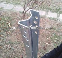 55*100*1700mm galvanized guardrail sigma post