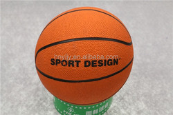 size1/2/3/4/5/6/7 rubber basketball wholesale for kids /children/mini basketball
